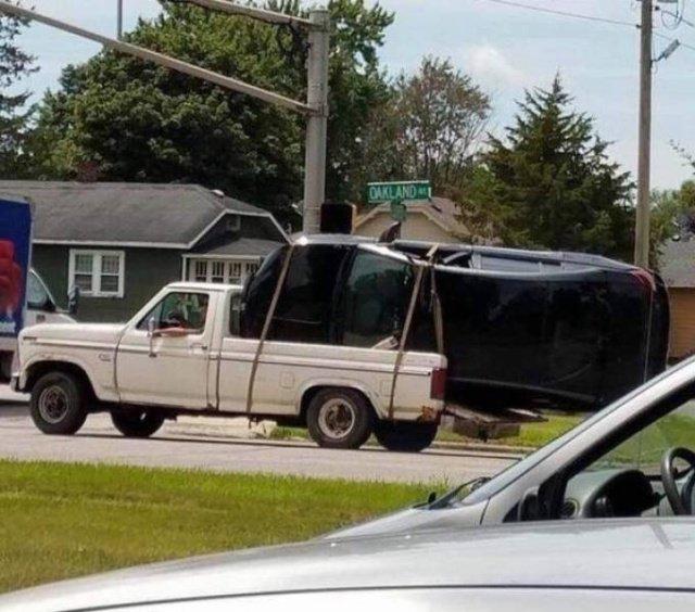 Авто приколы и неудачники