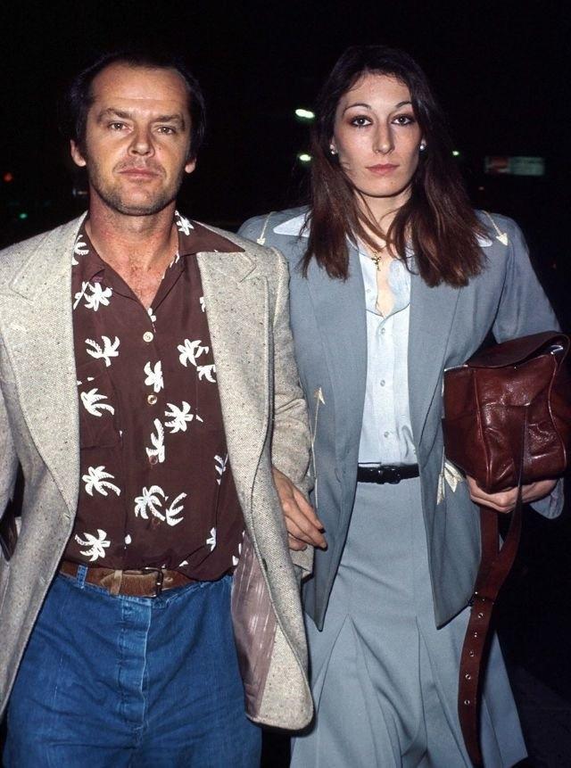 Джек Николсон и Анжелика Хьюстон — самая крутая пара Голливуда 70-80-х годов