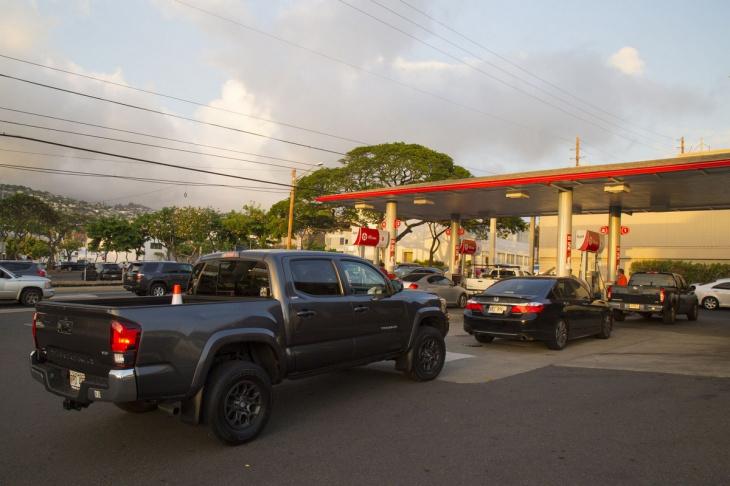 Гавайи готовятся к тропическому шторму «Лейн»