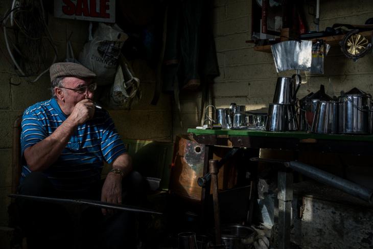Красота и жестокость жизни цыган в Дублине