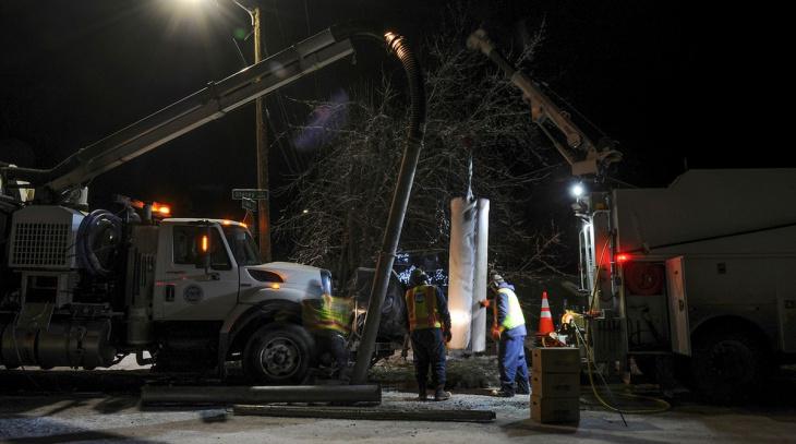 Мощное Землетрясение на Аляске