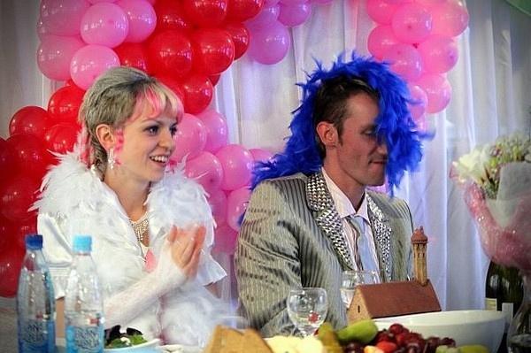 Забавные и смешные свадебные фото