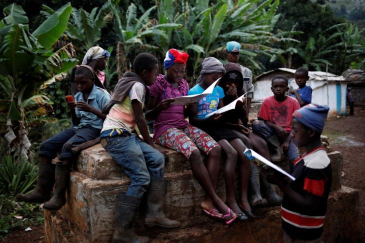 Забытая деревня на Гаити