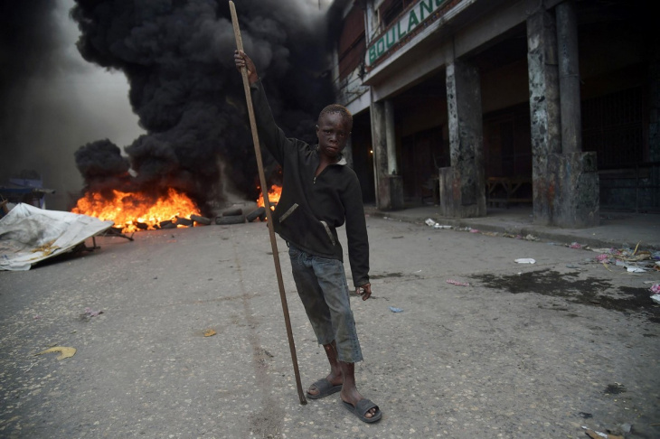 Жаркий февраль на Гаити