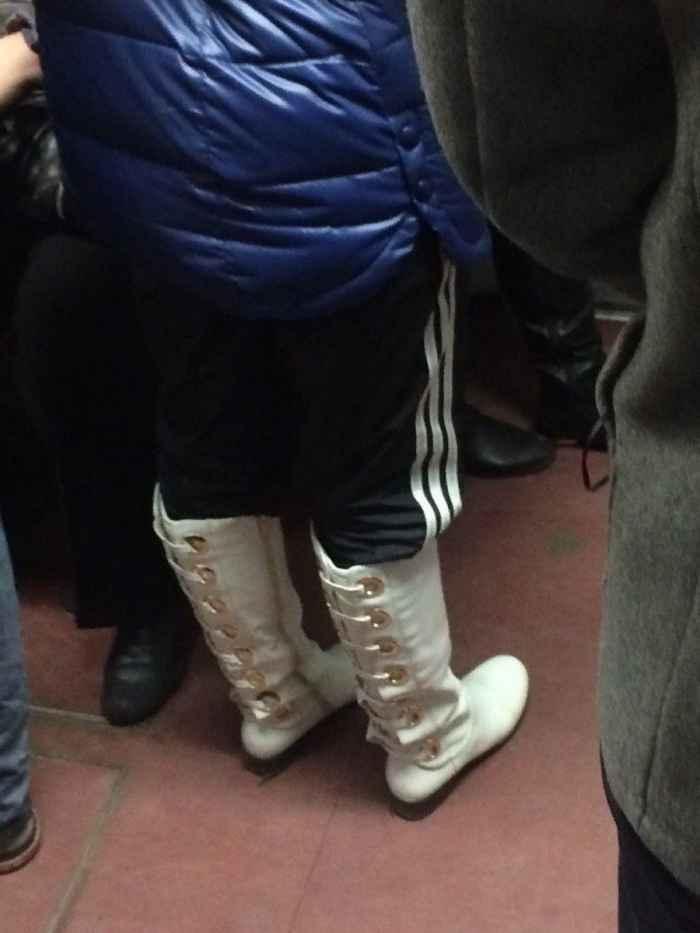 Фото приколы и юмор из российского метро