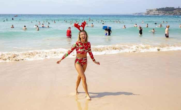 Рождество на горячих пляжах Сиднея