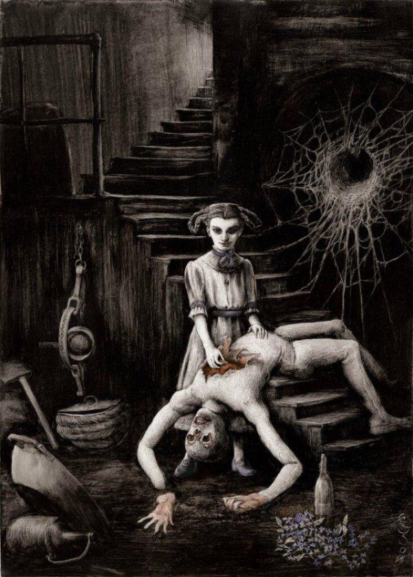 Необычные АРТ картины, в стиле — Психоделика