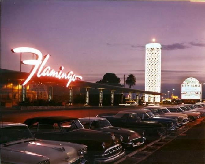 Фото Лас-Вегаса 1950-х годов. 30 исторических ретро фото!