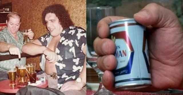 Андре — гигант который употреблял рекордное количество спиртного в день