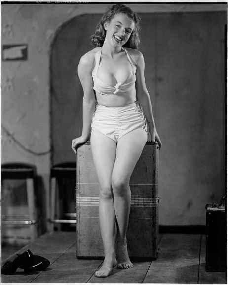 Личные фотографии Мэрилин Монро в молодости
