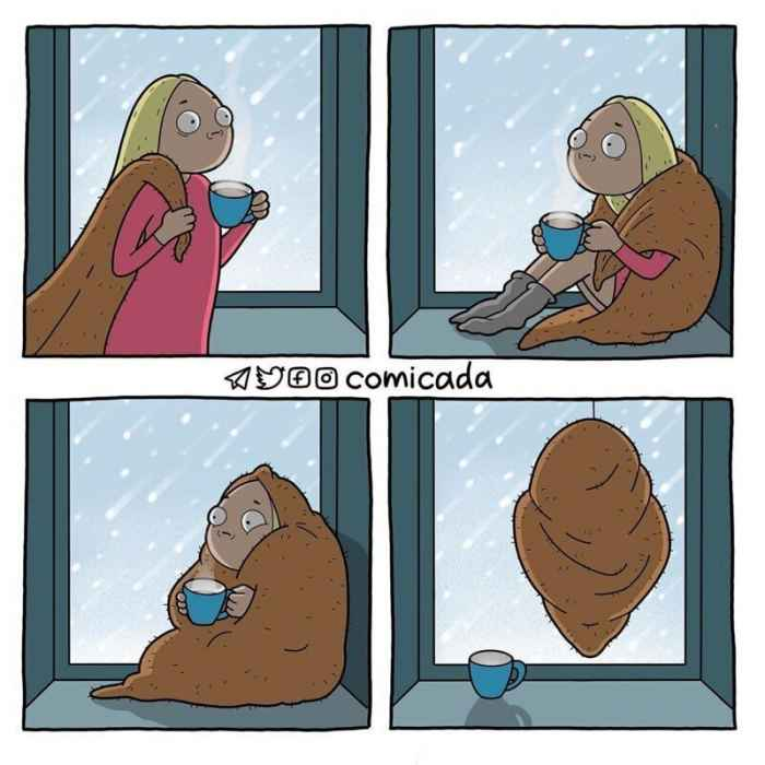 Анастасия Киселева рисует истории из жизни в виде остроумных комиксов