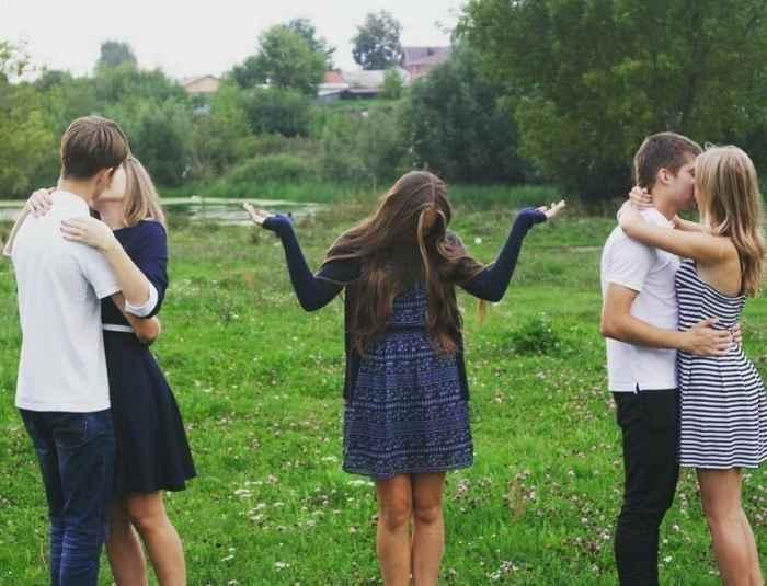 Приколы из жизни девушек одиночек