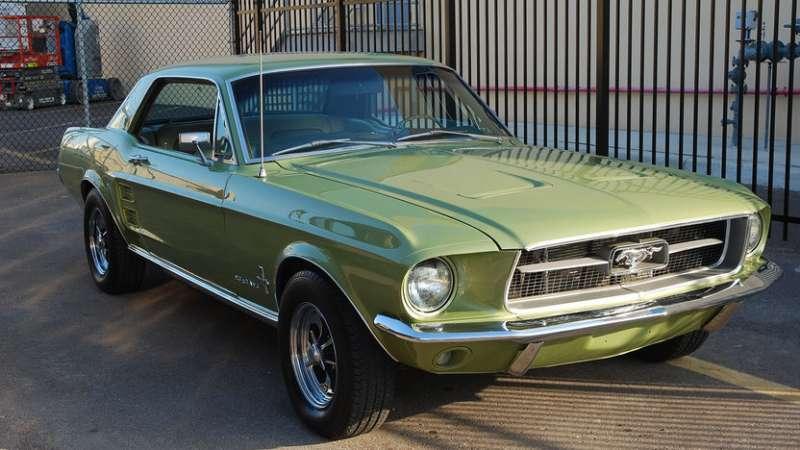 Легендарный американец — Форд Мустанг 1967 года выпуска