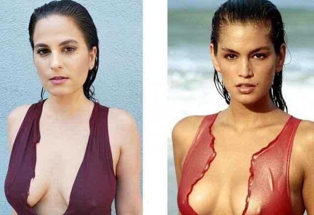 SwimsuitIconChallenge — девушки повторяют снимки моделей в бикини