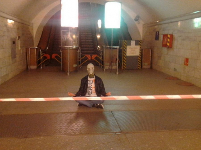Необычные личности из российского метро