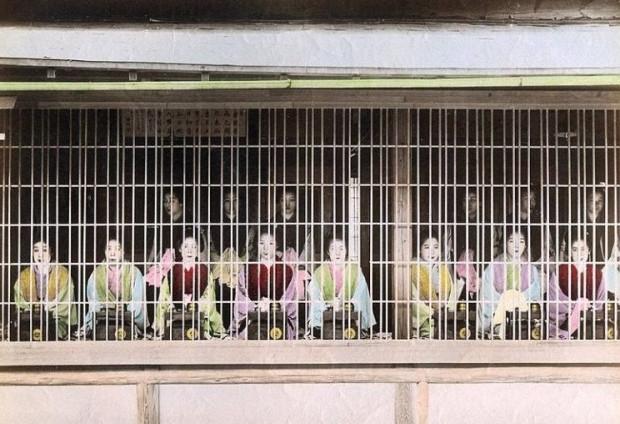 «Соаплэнды» — японские бордели, где можно помыться
