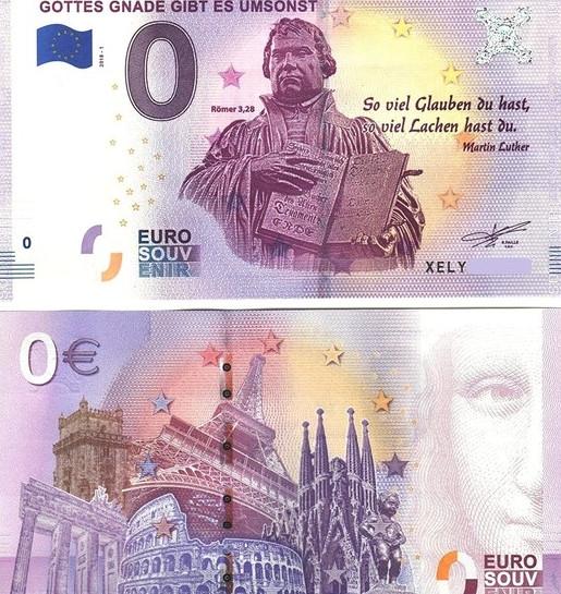 Зачем в Европе выпускают купюры в 0 евро