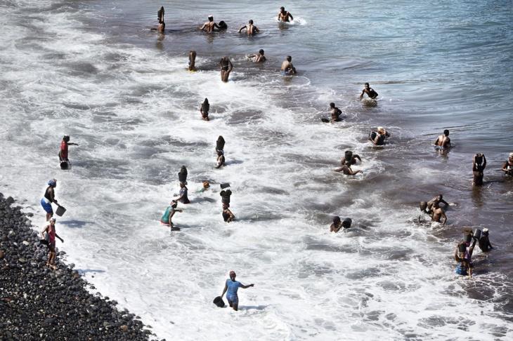 Песчаные воры в Кабо-Верде