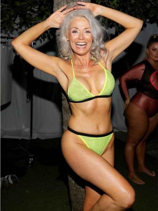 56-летняя женщина стала финалисткой конкурса бикини