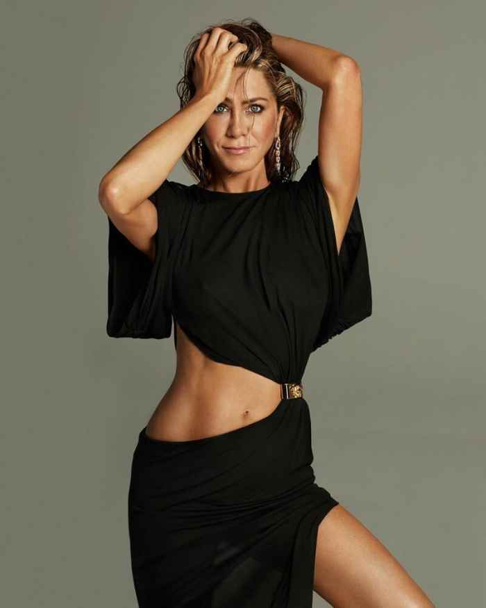Сексуальная Дженнифер Энистон на обложке известного журнала