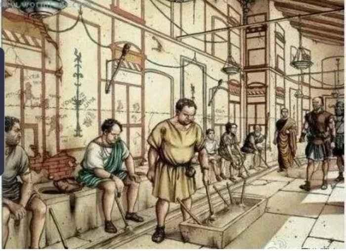 Интересные факты о римских, общественных туалетах