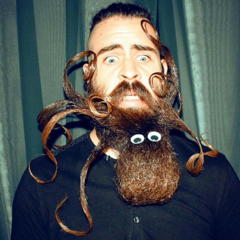 9 самых нелепых стрижек и укладок бороды