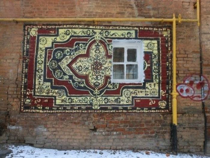 10 идей, как можно использовать ковёр вне квартиры