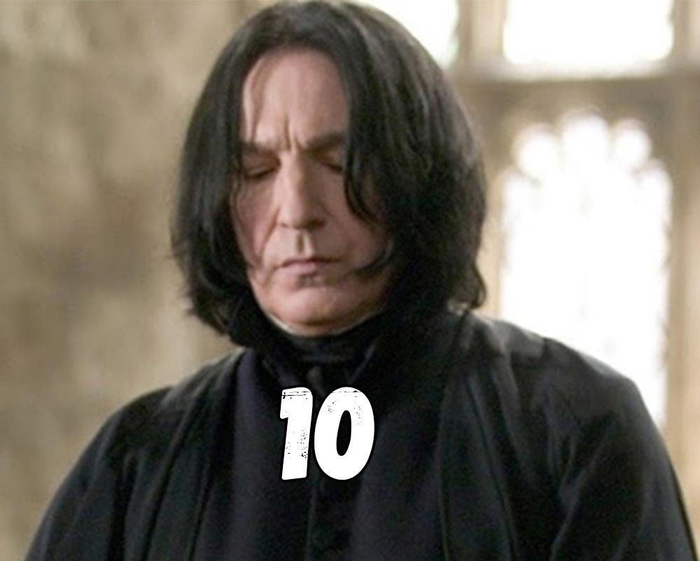 10 очков Гриффиндор