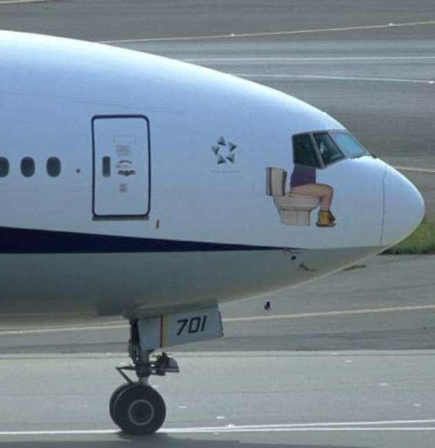 Подборка самых забавных самолётов