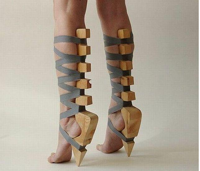 Смешная подборка необычной обуви