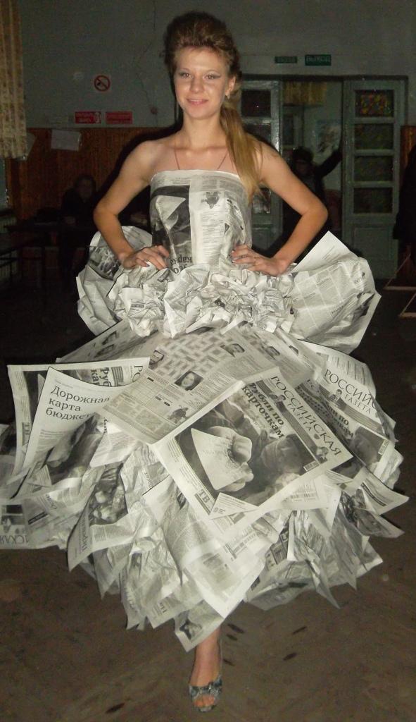 Как сэкономить на выпускном: топ самых смешных и необычных вечерних платьев