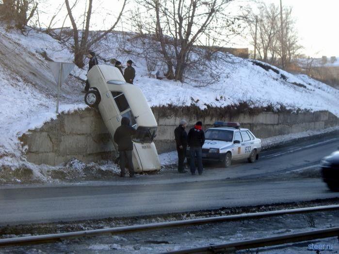 Подборка самых нелепых аварий