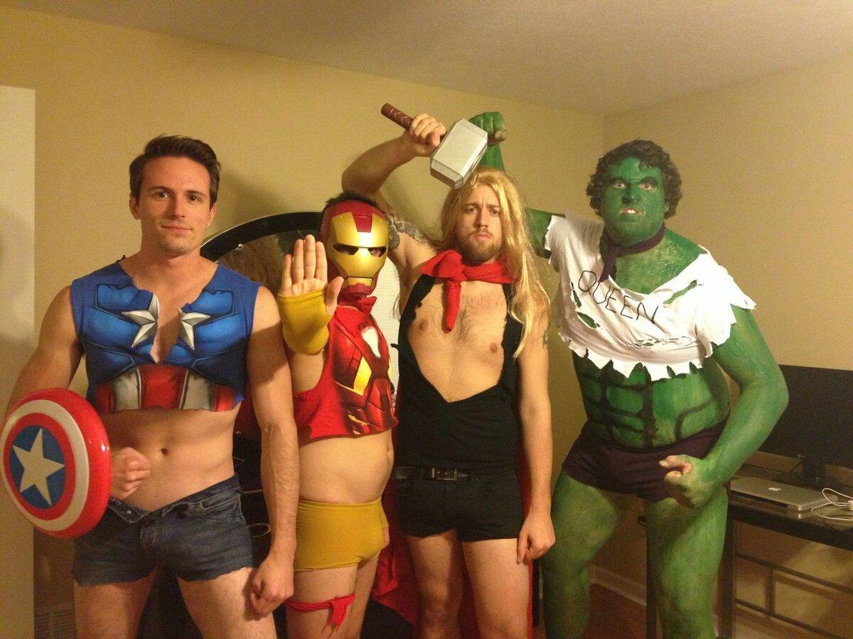 Странные и смешные супергерои