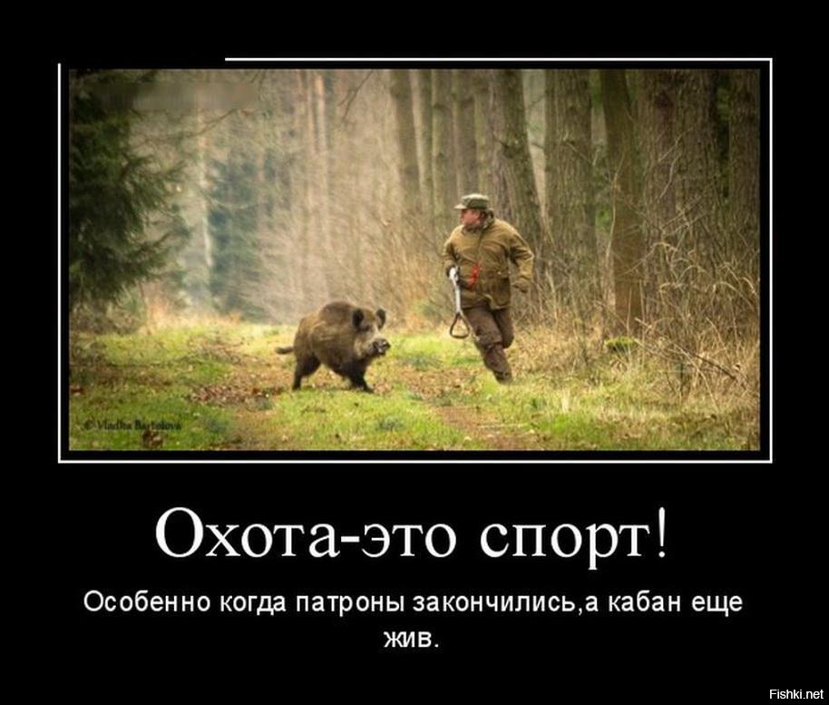 Подборка фото приколов про охоту