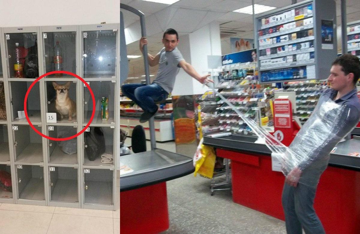 Подборка смешных фото, сделанных в продуктовых магазинах
