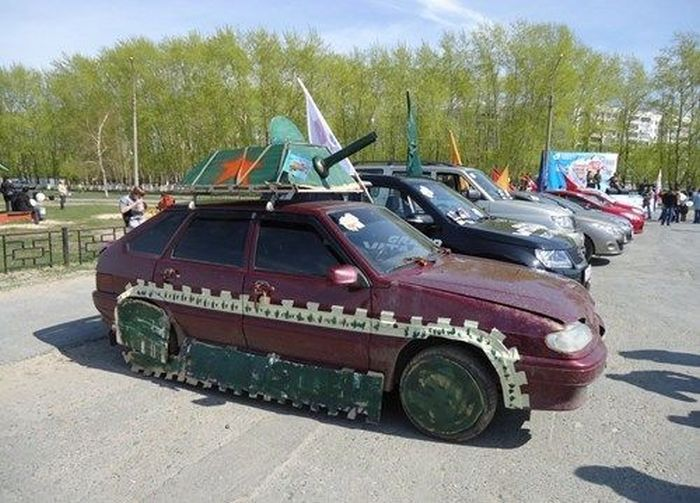 Когда до было лучше: подборка нелепых и смешных тюнингованных автомобилей
