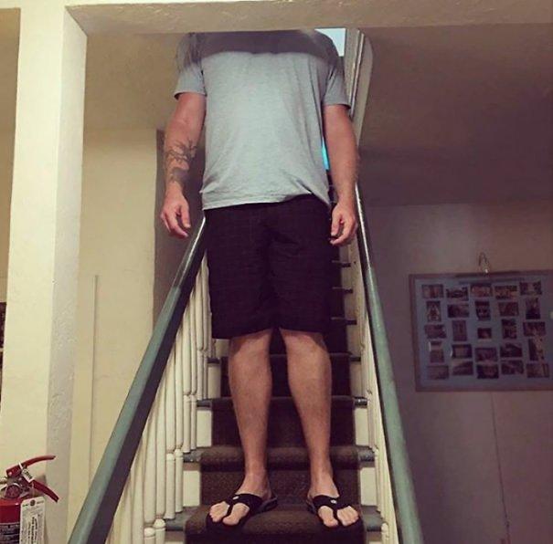 Когда выше некуда: подборка фото приколов про высоких людей