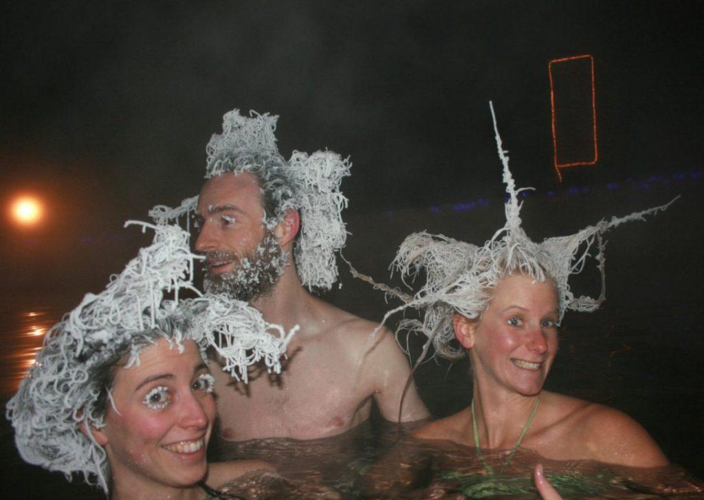 Когда замёрз оригинально