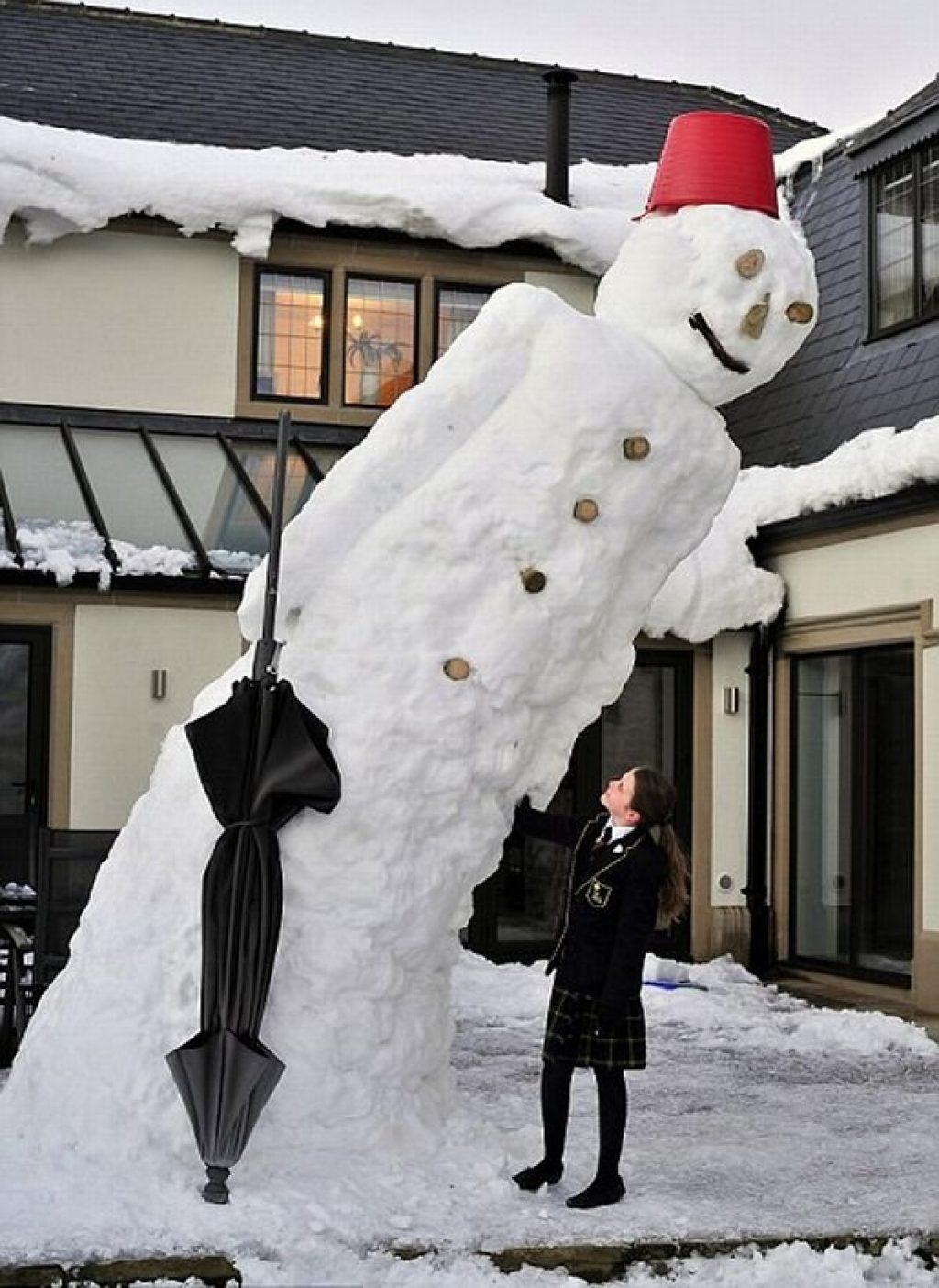 Такие странные снеговики