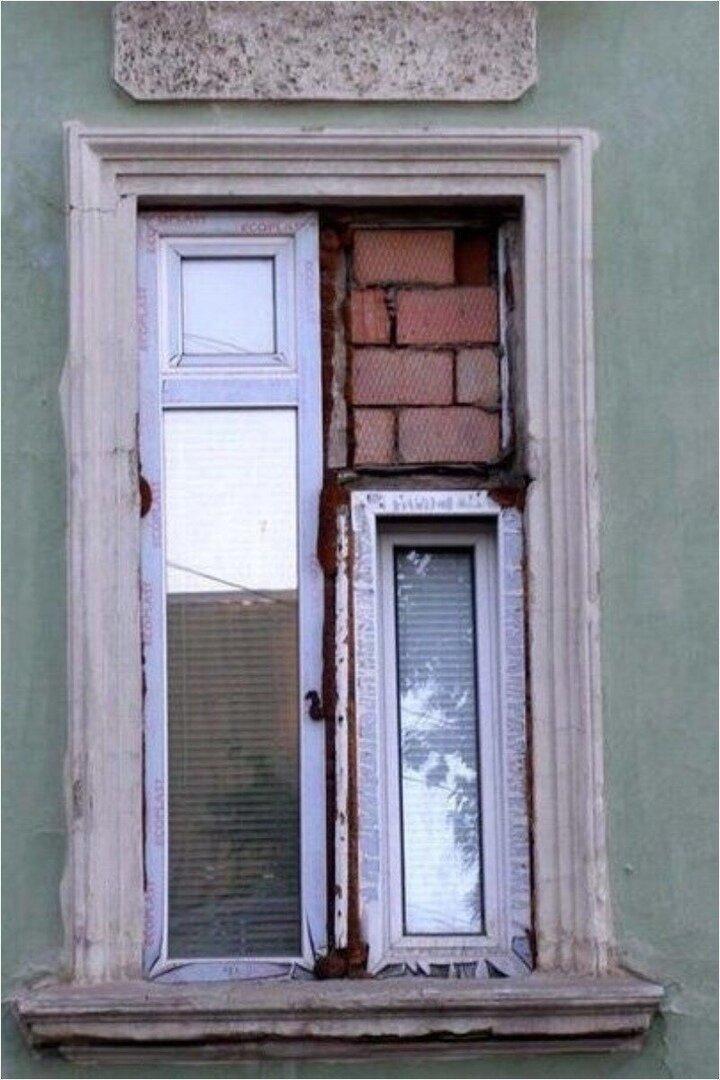 Когда окно, да не то
