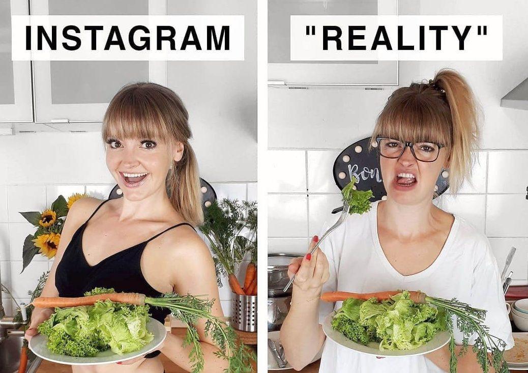 Инстаграм против реальности
