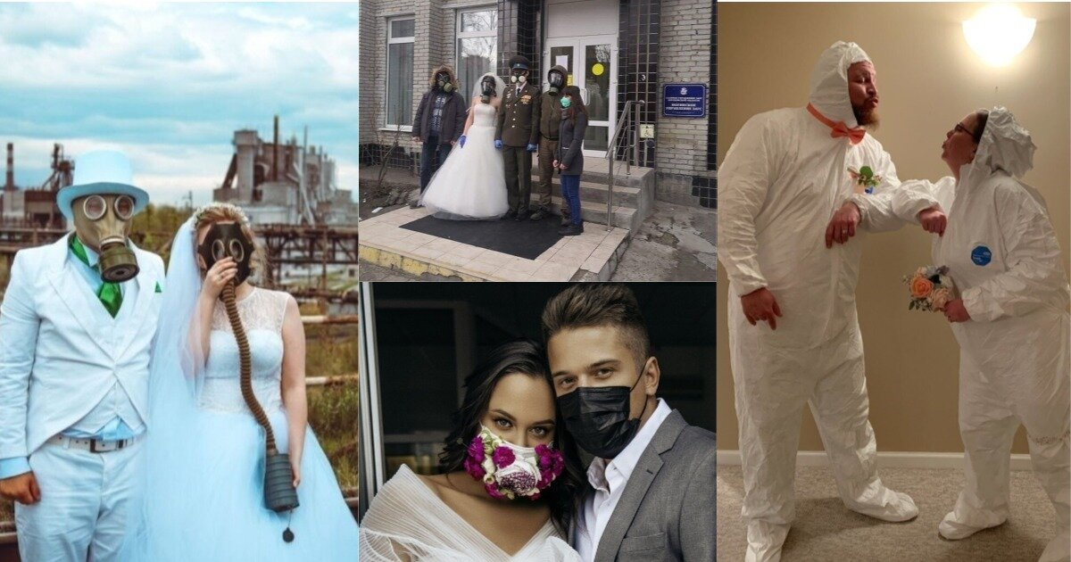 Свадебные церемонии во время карантина