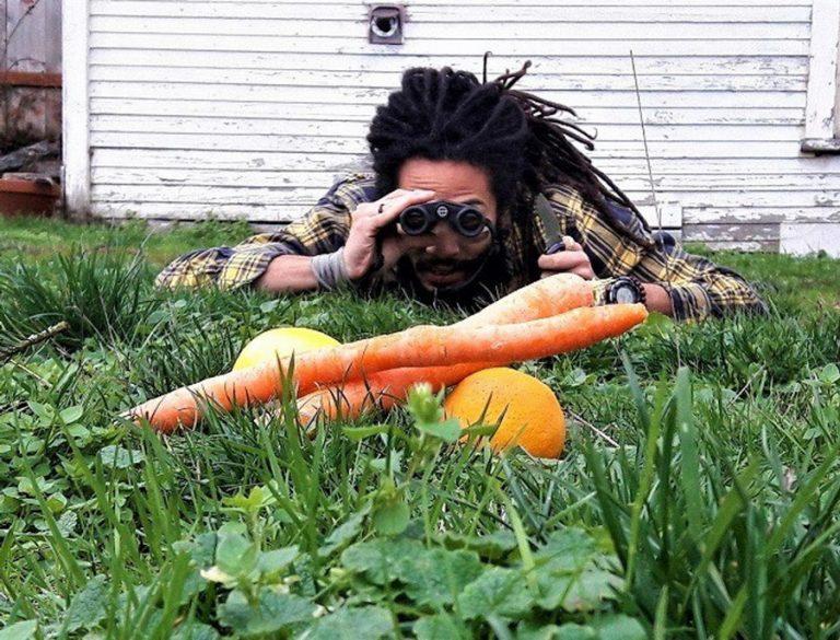 Когда вегетарианец в душе охотник