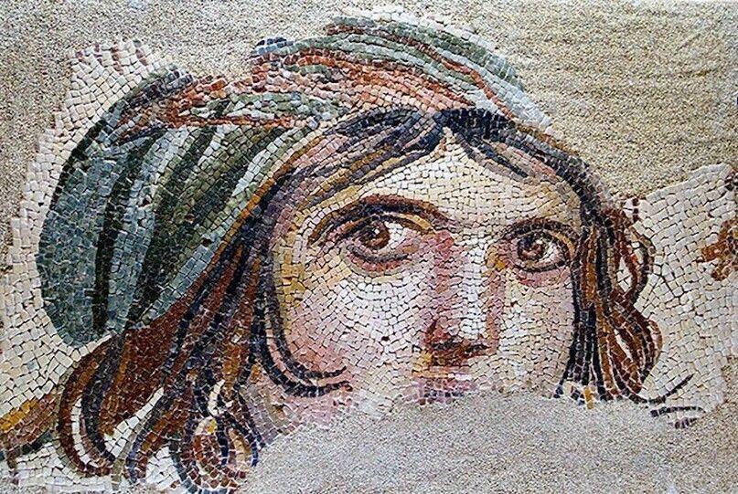 В Турции обнаружены древние мозаики