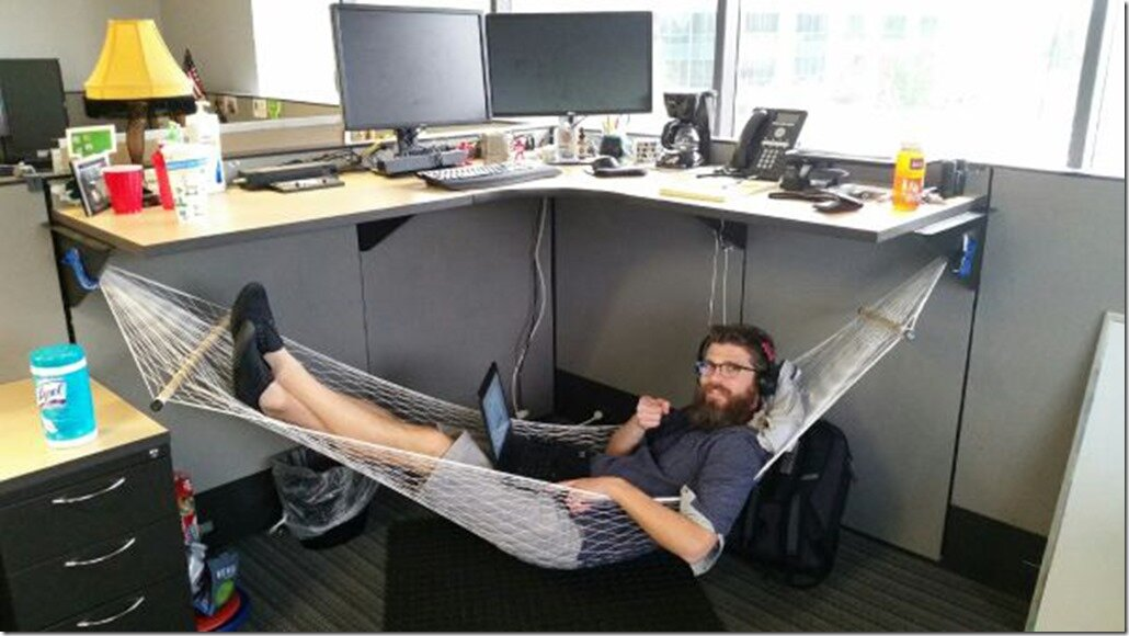 Смешно об офисном планктоне
