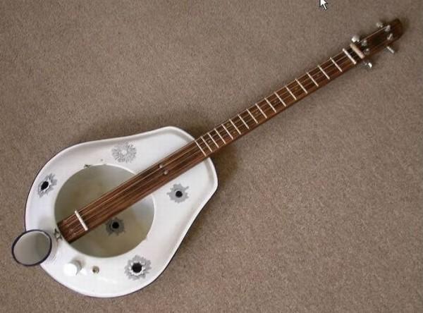 Гитара из чего попало