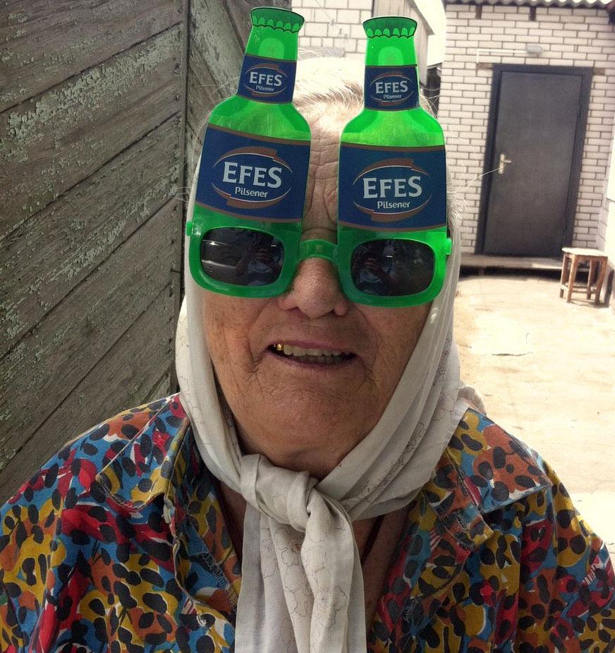 Старость бывает веселой