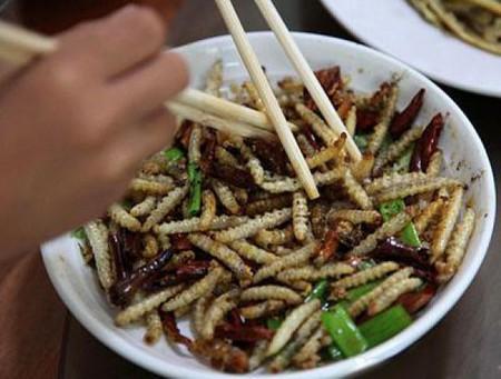 Дикая китайская еда