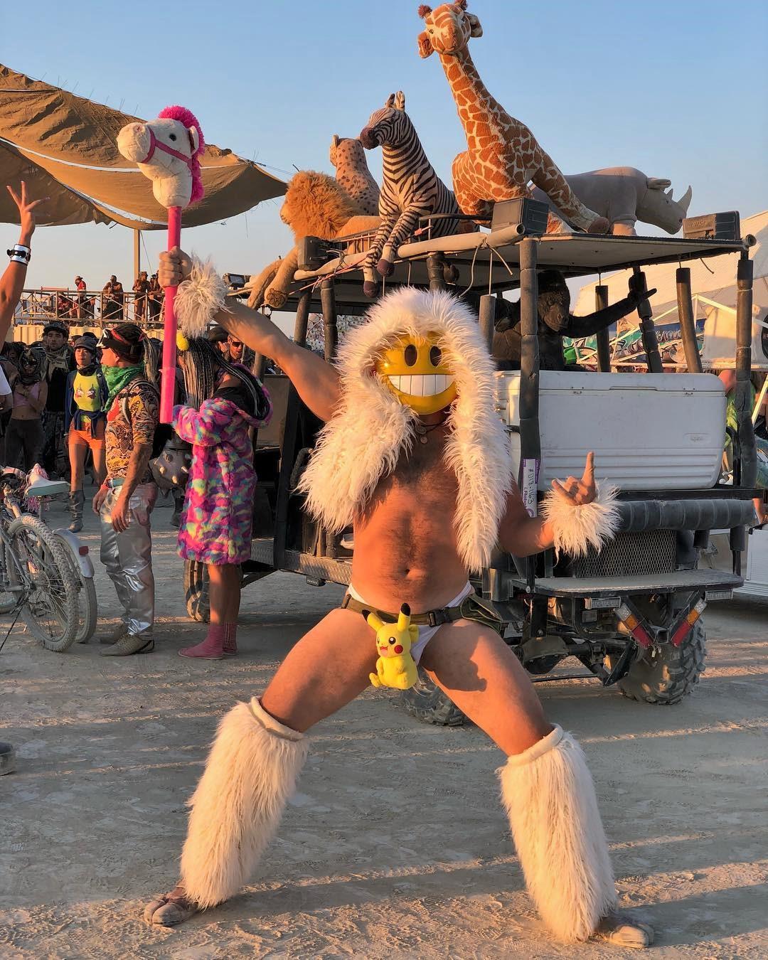 Фестиваль горящего человека