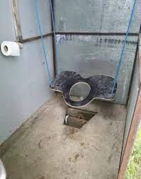 Самый красивый туалет в деревне